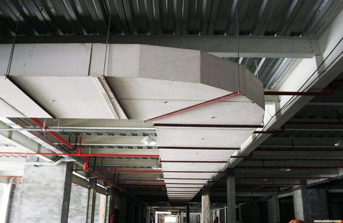 地下车库玻璃钢风管