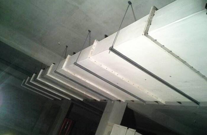 无机玻璃钢风管安装