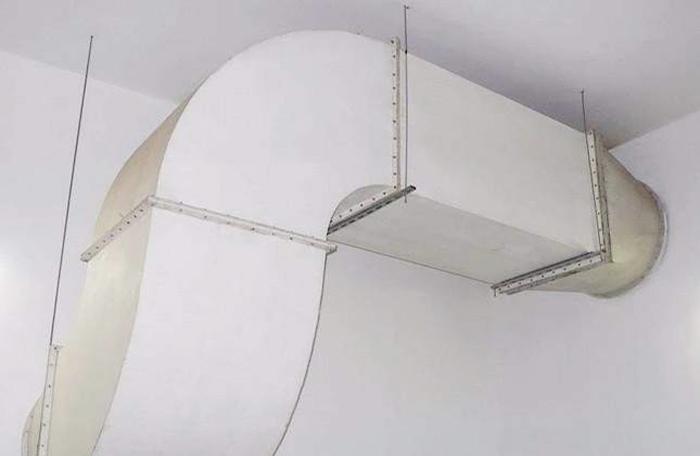 玻璃钢风管安装