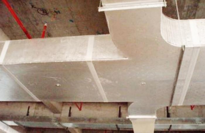 玻璃钢风管加工安装